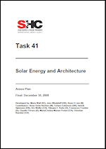 Solar Energy and Architecture Annex Plan
