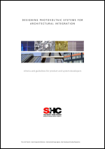 T.41.A.3/2 Designing Photovoltaic Systems for Architectural Integration