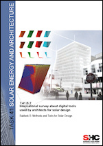 T.41.B.2: International Survey About Digital Tools Used by Architects for Solar Design